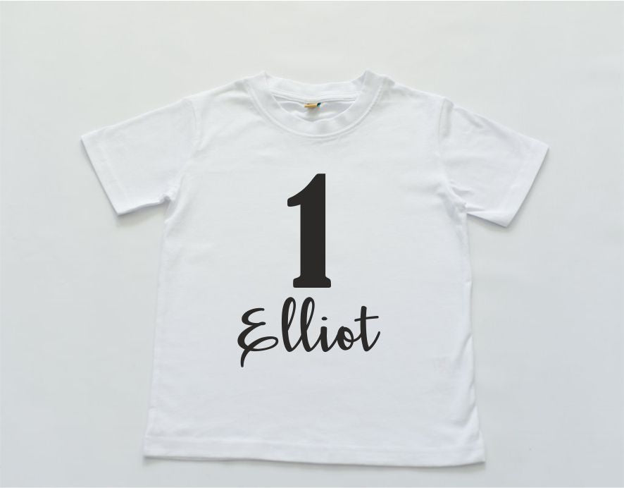 Personalised Birthday TShirt