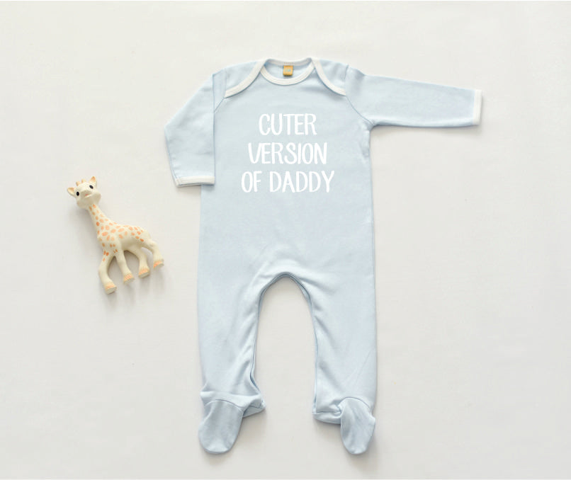 Cuter Version of Daddy Sleepsuit