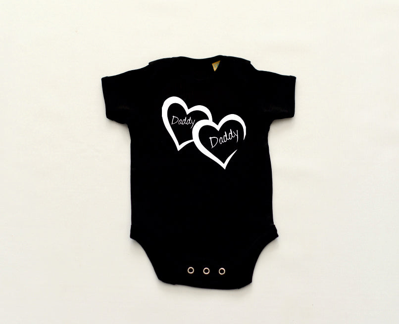 Daddy Daddy Short Sleeved Bodysuit