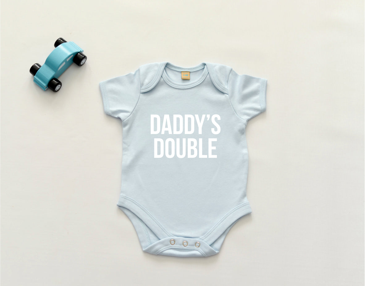 Daddy's/Mummy's Double Bodysuit