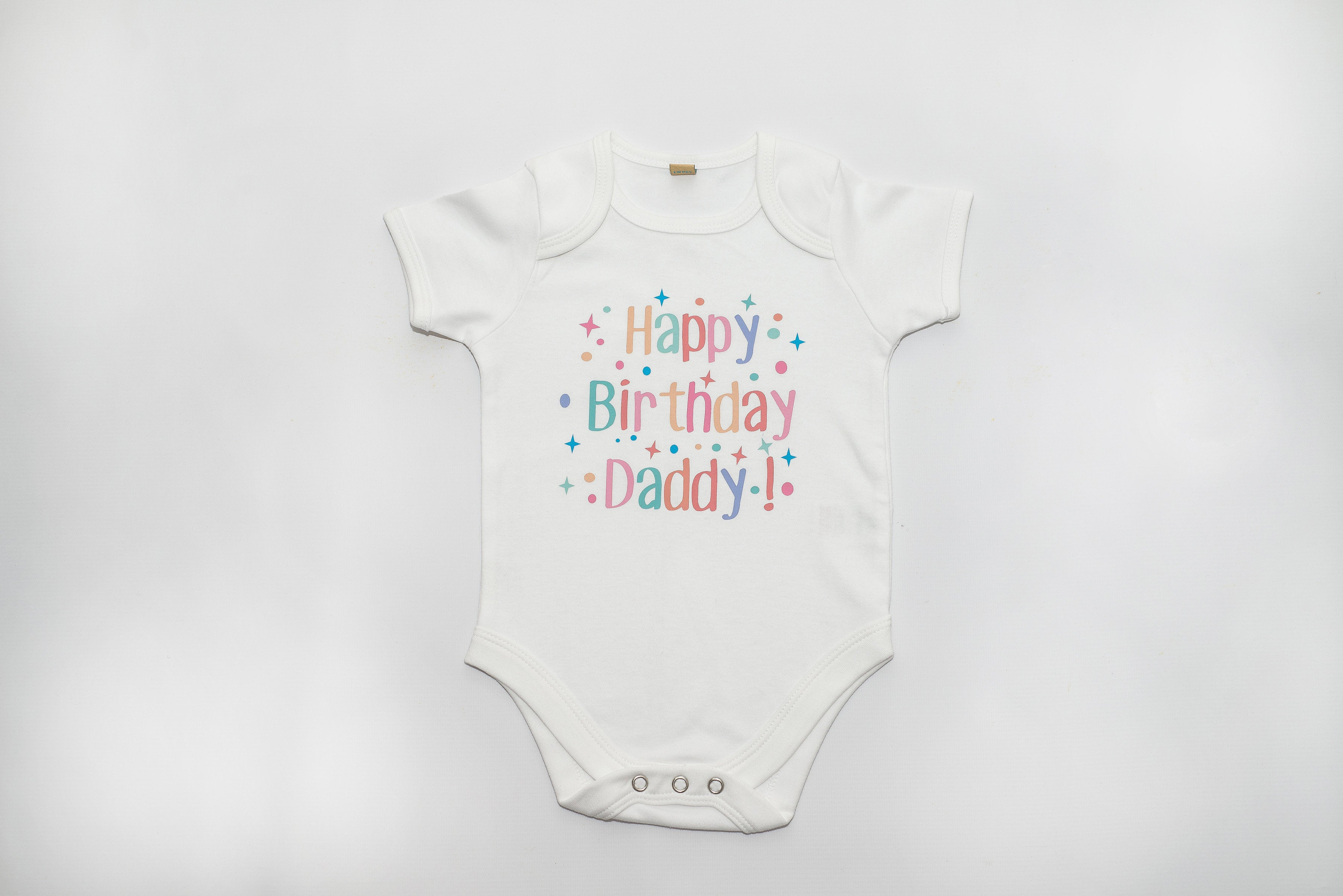 Personalised Happy Birthday Bodysuit