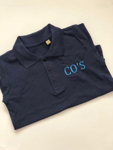 Personalised Navy Polo Shirt