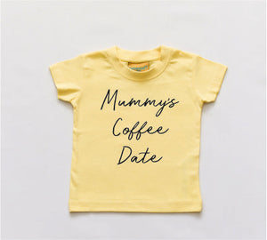Mummy's Coffee Date T-Shirt