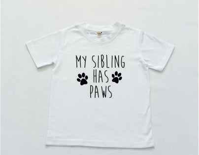 My Sibling has Paws T-Shirt
