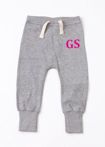 Personalised Loose Fit Sweatpants- Pink