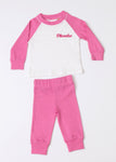 Personalised Pyjamas- Pink