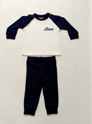 Personalised Pyjamas - Blue