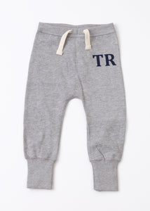 Personalised Loose Fit Sweatpants - Grey