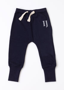 Personalised Loose Fit Sweatpants - Navy