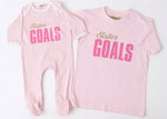 Sister Goals T-Shirt & Sleepsuit