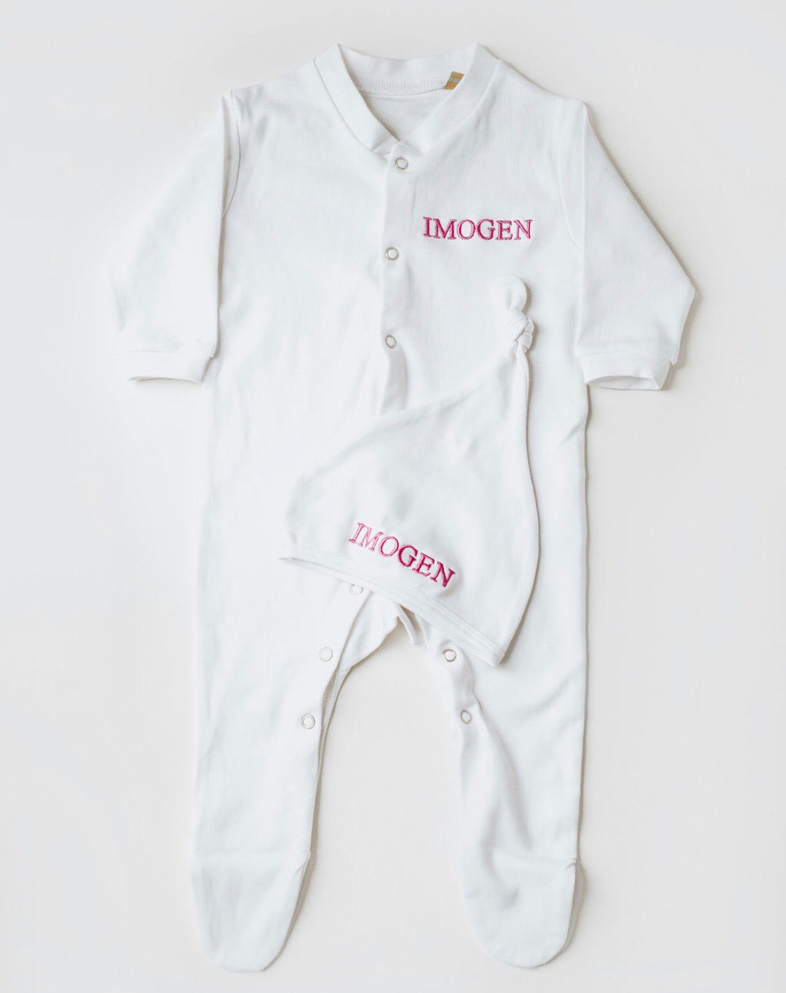 'My first outfit'  Embroidered Gift set