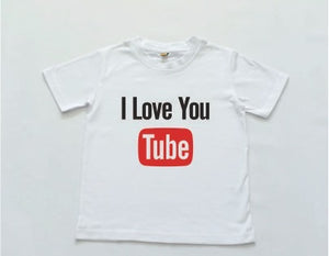 I Love You (Tube) Tee