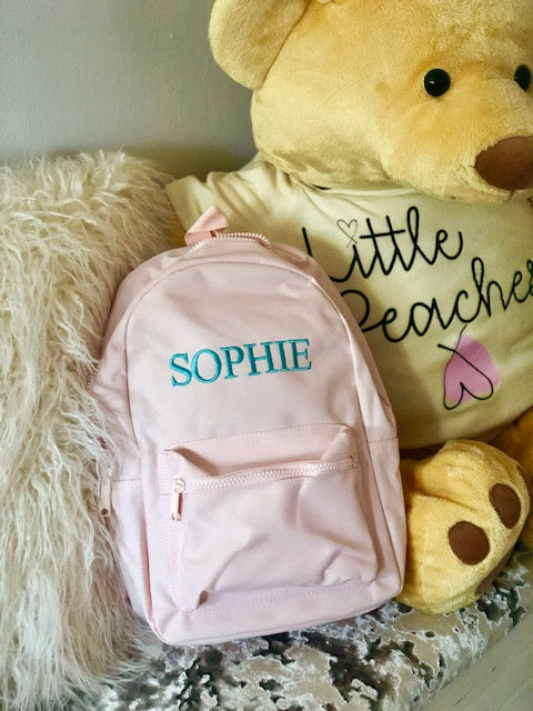 'Sophie' Embroidered Personalised Bags