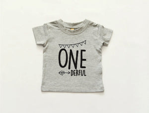 'One-derful' T-Shirt