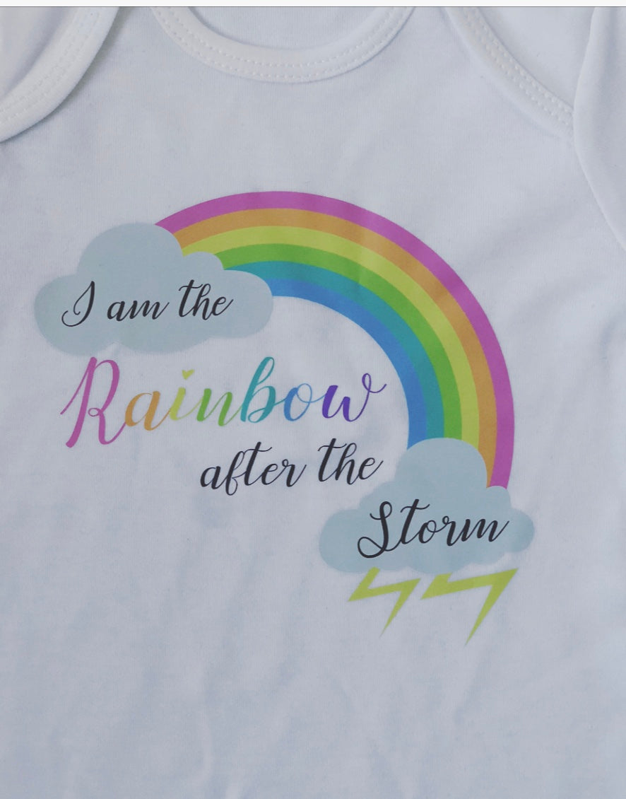 Rainbow baby Sleepsuit