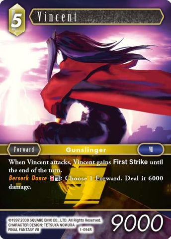 1-094R Vincent - Trading Card