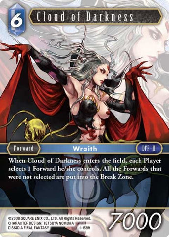 1-158H Cloud Of Darkness - Trading Card