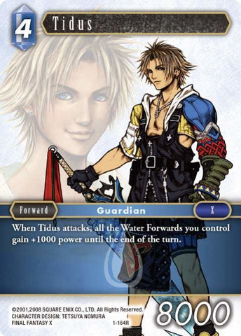 1-164R Tidus - Trading Card