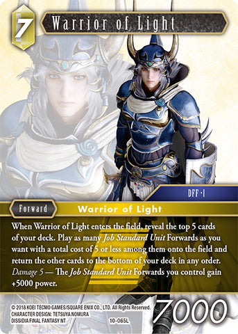 10-065L Warrior of Light