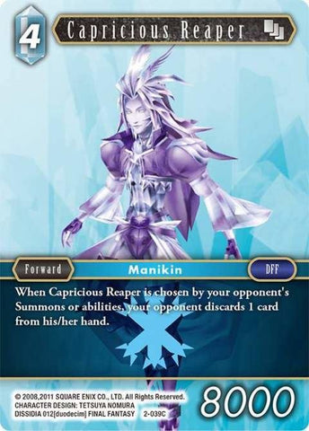 2-039C Capricious Reaper - Trading Card