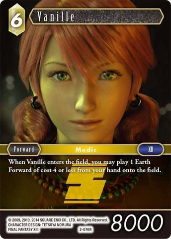 2-076R Vanille - Trading Card