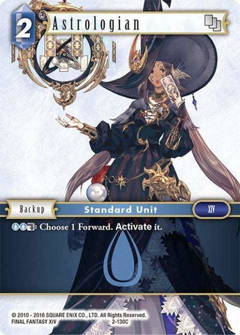 2-130C Astrologian - Trading Card