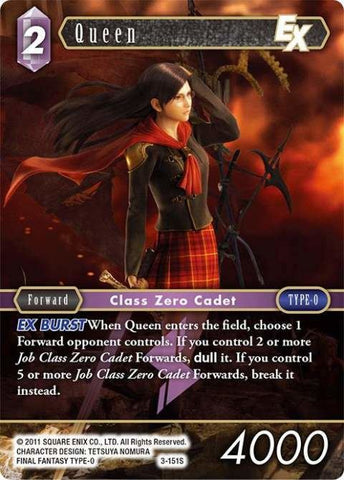 3-151S Queen - Trading Card