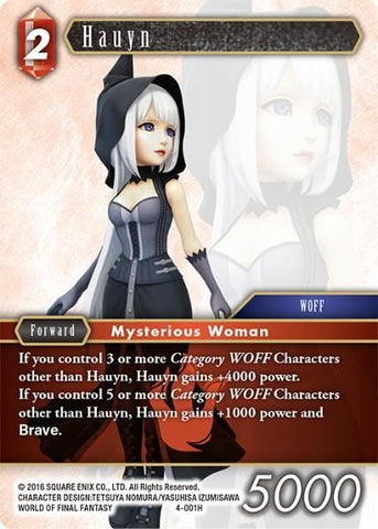 4-001H Hauyn - Trading Card