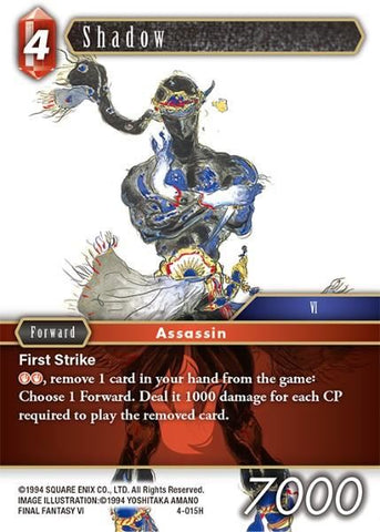 4-015H Shadow - Trading Card