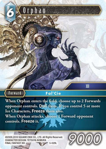 5-029L Orphan - Trading Card