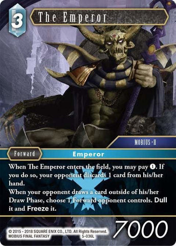 5-036L The Emperor - Trading Card