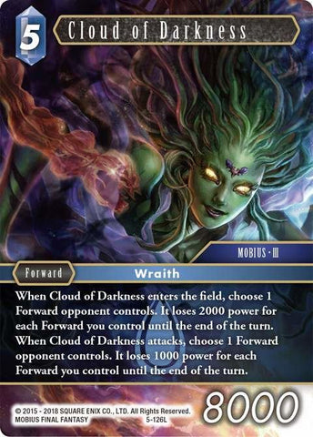 5-126L Cloud Of Darkness - Trading Card