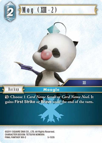 5-153S Mog (Xiii-2) - Trading Card