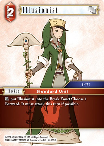 6-005C Illusionist - Trading Card