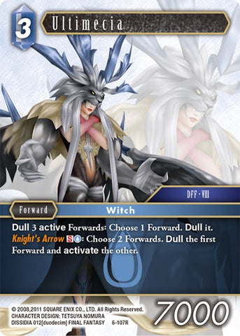 6-107R Ultimecia - Trading Card