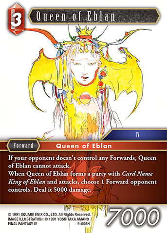 9-006H Queen of Eblan