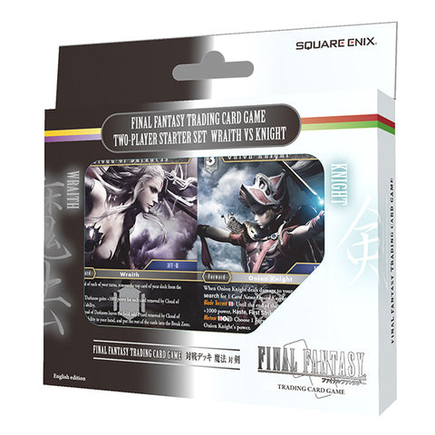 Final Fantasy Trading Card Game Two-Player Starter Set Wraith vs. Knight