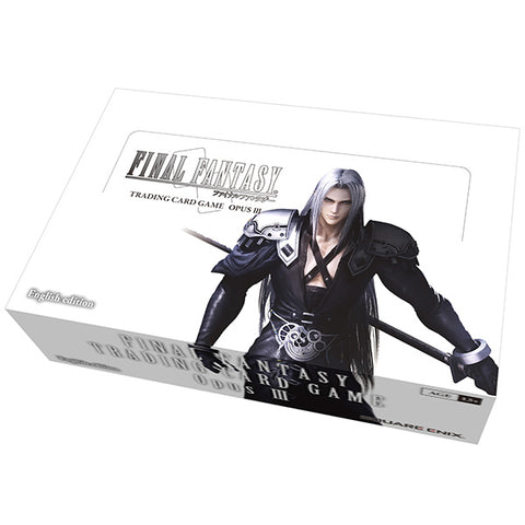 Final Fantasy TCG Opus 3 Booster Box