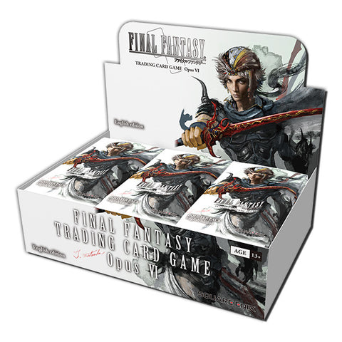 Final Fantasy TCG Opus 6 Booster Box