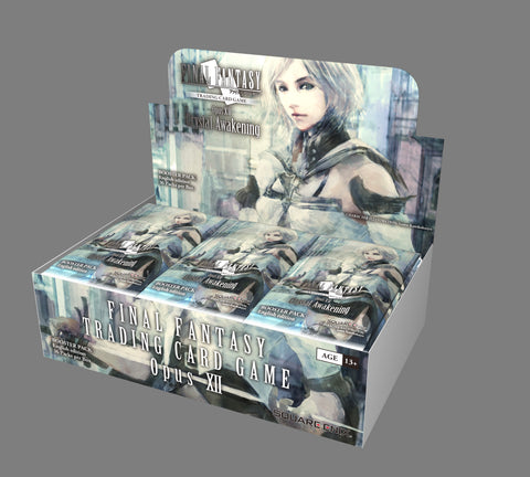 Final Fantasy TCG Opus 12: Crystal Awakening Booster Box