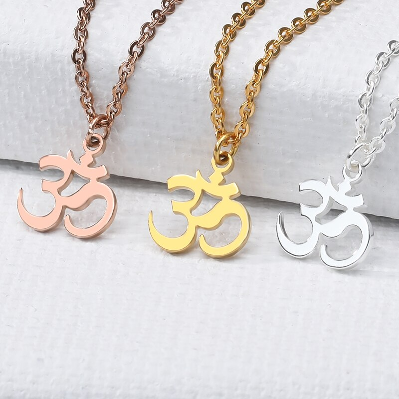 OM Symbol Necklace