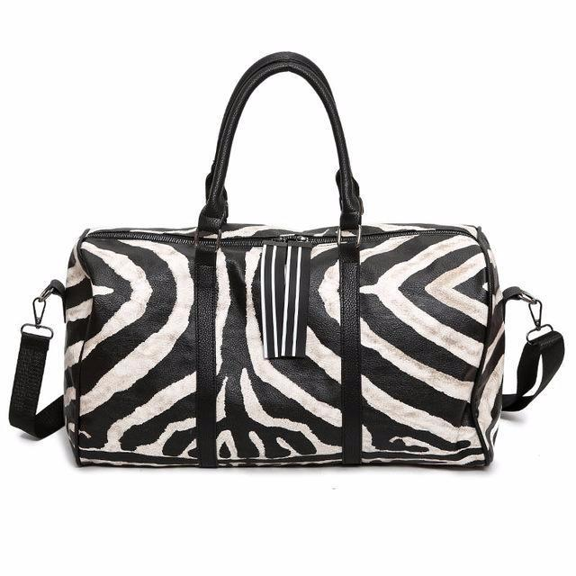 Bag - Zebra Gym Bag