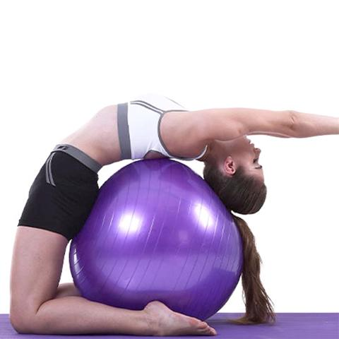 Stability Ball for Yoga, Pilates, Fitness exercises
