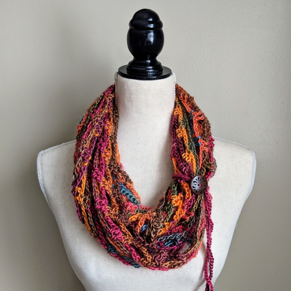 crotchet collection, Made By MAM, GJCo, shop, gifts, accessories, scarves, handmade crochet, one of a kind, Graceful Journey Co, cozy scarves, winter scarves, winter cowl,neck warmer, infinity scarf