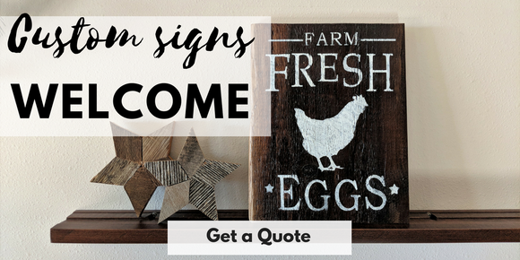 #sagewoodsignco, custom signs, barn board signs, unique home decor