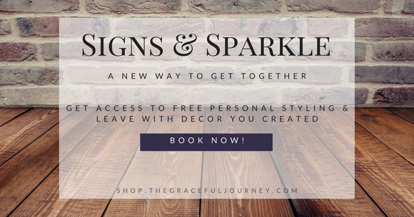 signs and sparkle, barn board signs, jewelry, event, birthday, bridal shower, fundraiser