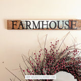 Farmhouse in weathered wood - Graceful Journey Co. Sagewood Sign Co unique gift idea, barn board signs, jewelry, mom essentials, farmhouse style, simplify your life, Premier Designs