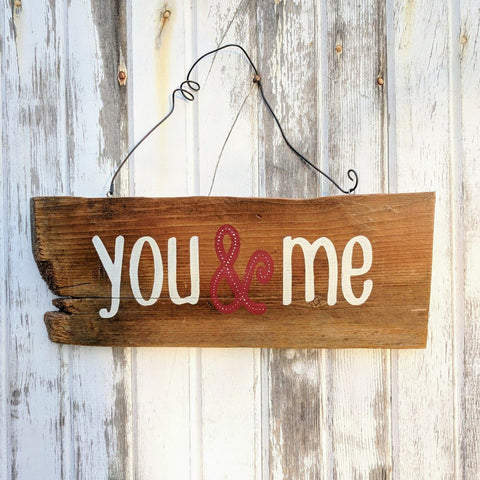You & Me - Graceful Journey Co. Sagewood Sign Co unique gift idea, barn board signs, jewelry, mom essentials, farmhouse style, simplify your life, Premier Designs