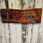 I Heart Us - Graceful Journey Co. Sagewood Sign Co unique gift idea, barn board signs, jewelry, mom essentials, farmhouse style, simplify your life, Premier Designs