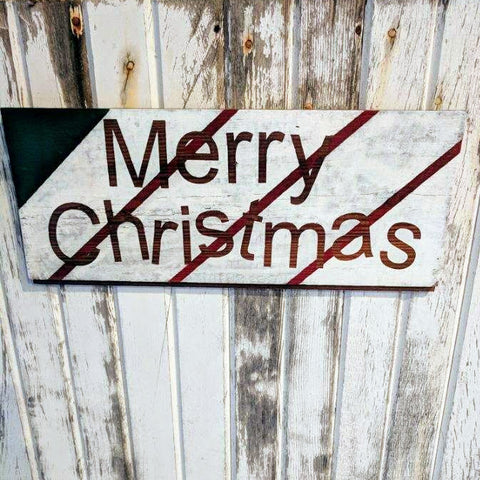 Merry Stripey Christmas - Graceful Journey Co. Sagewood Sign Co unique gift idea, barn board signs, jewelry, mom essentials, farmhouse style, simplify your life, Premier Designs